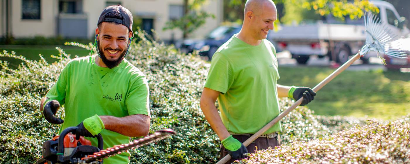Aktion Mensch - Grünbau Inklusiv