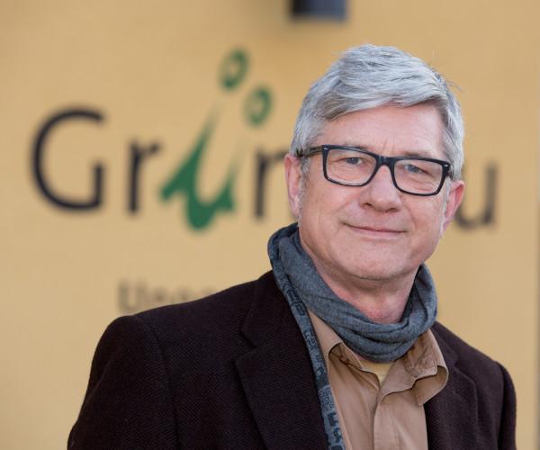Dortmund, 06.03.2014Portrait Michael Stober, Geschaeftsfuehrer Gruenbau GmbH